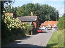TM2743 : Newbourne village scene by Andrew Hill