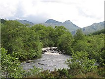 NM8363 : Strontian River by Richard Webb
