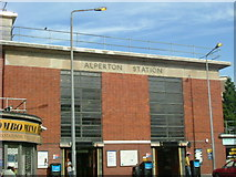 TQ1883 : Alperton station, Wembley by Phillip Perry