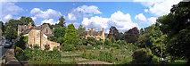 SP0228 : Gardens in Winchcombe by Frank Lane