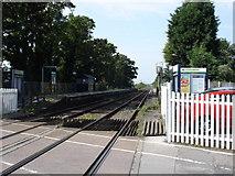 SK6443 : Burton Joyce Railway Station by Oxymoron