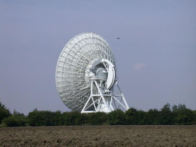 MERLIN dish, Mullard Radio Astronomy Observatory