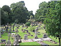 SP3478 : London Road cemetery by E Gammie