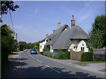 TL3852 : Cottage in Eversden Road by Keith Edkins