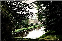 ST3505 : Forde Abbey from among the trees by Sarah Smith