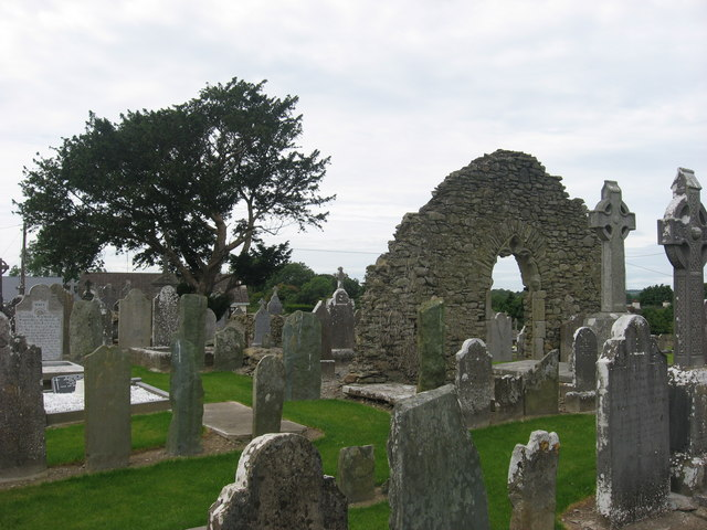 Church ruins at Tullyallen, Co. Louth