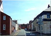 SJ9223 : County Road, Stafford by Simon Huguet