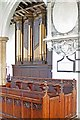 TF8200 : All Saints Church, Hilborough, Norfolk - Organ by John Salmon