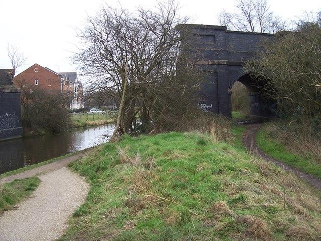 Bridge no more - Wyrley & Essington Canal