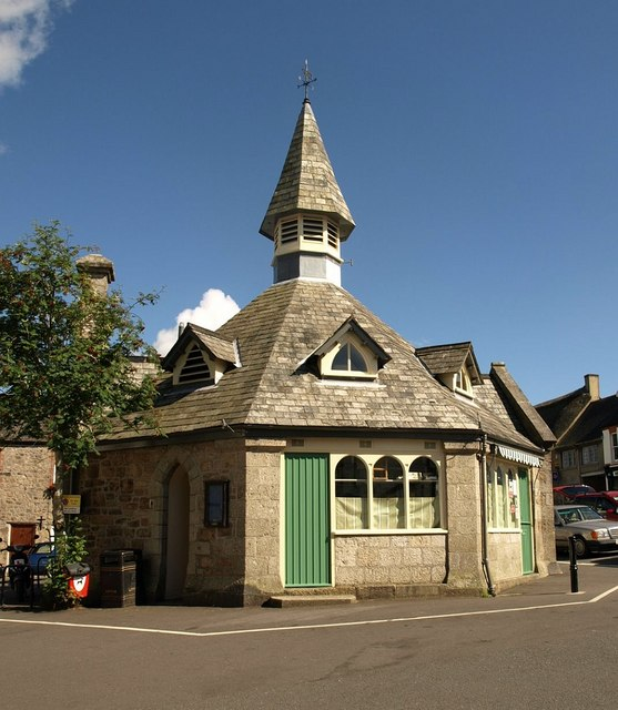 Market house, Chagford