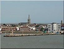 TM2532 : Trinity House Pier, Harwich by Humphrey Bolton