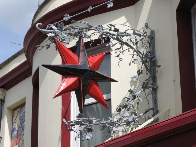 Sign for the Evening Star