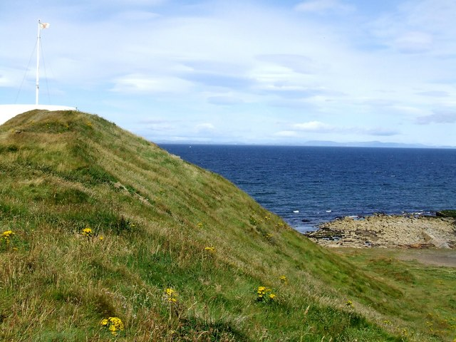 Rampart at Burghead