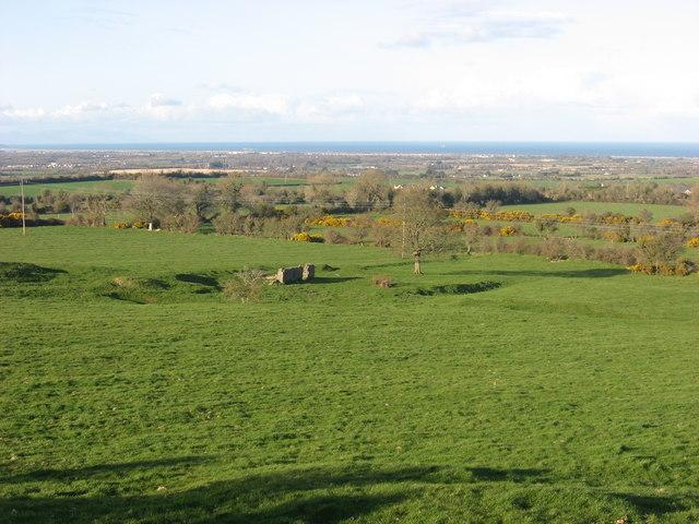 Earthworks at Mullaghteelin, Co. Meath