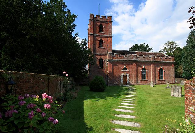 Church of St Mary - Avington