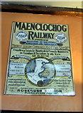 SN0729 : Maenclochog Railway poster by ceridwen