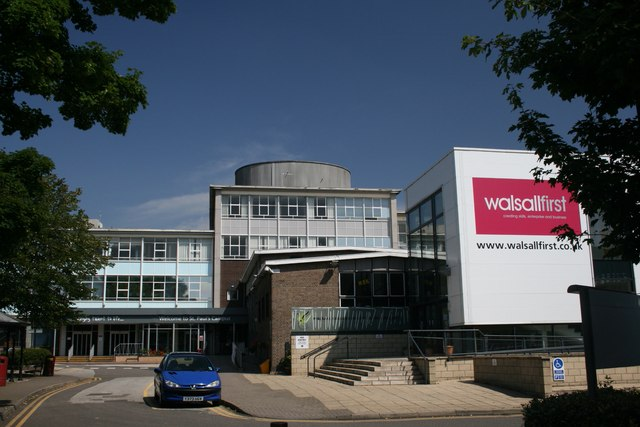 Old Walsall College, Main Entrance