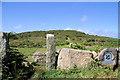 SW4839 : Trevalgan Hill by Pierre Terre