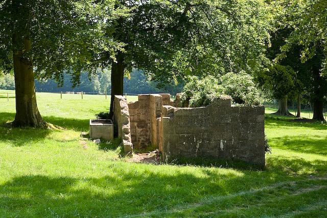 Ruin in field east of Bury Lodge
