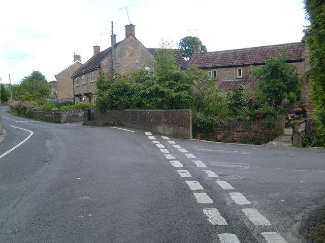 Junction in Norton-sub-Hamdon