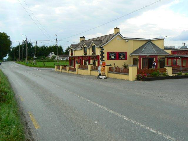 Colourful pub
