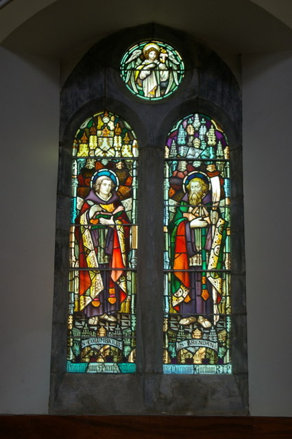 Stained glass window (i)
