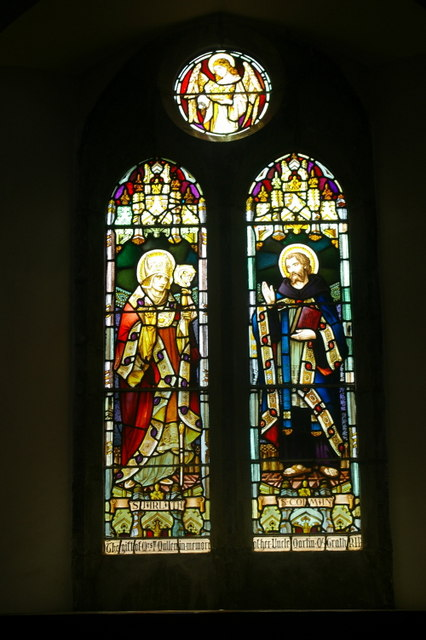 Stained glass window (iv)