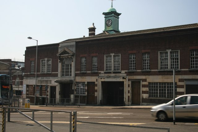 Old Bus Station Buildings in Walsall