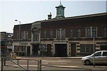 SP0198 : Old Bus Station Buildings in Walsall by Derek Bennett