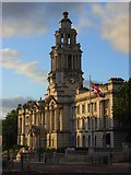 SJ8989 : Stockport Town Hall by Andrew Smith