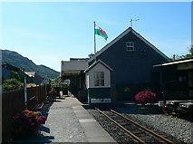 SH5639 : Welsh Highland Railway Station, Porthmadog by Eirian Evans