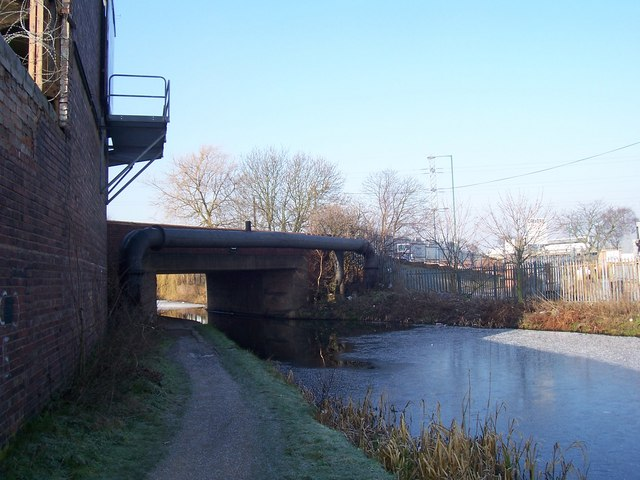 Bughole Bridge - Walsall Canal