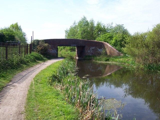 Barnes Meadow Bridge - Walsall Canal