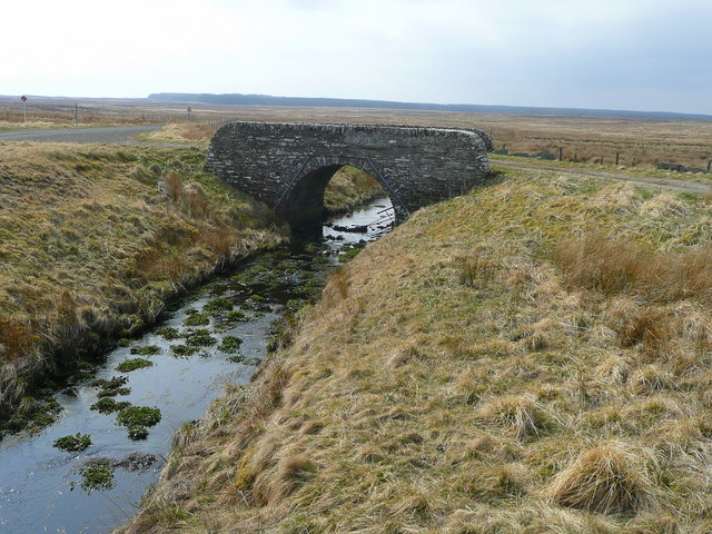Old bridge on the Strathmore road