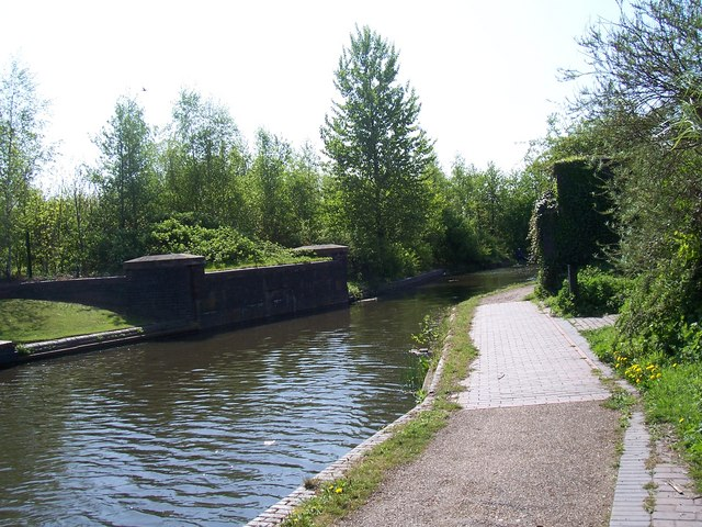 Bridge no more - Walsall Canal