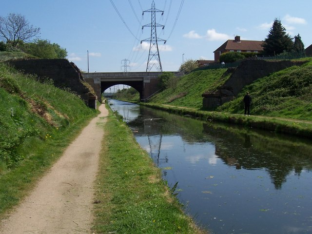 Missing Bridge - Tame Valley Canal