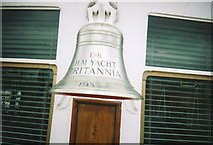 NT2677 : Ship's Bell 1955, HMY Britannia by Stanley Howe