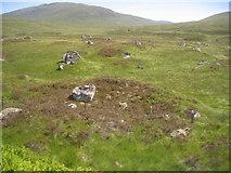 NN4259 : Looking across the moor towards Beinn Pharlagan by Pip Rolls