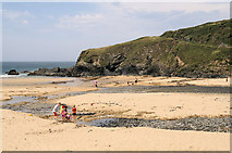 SW6619 : Poldhu Cove by Pierre Terre