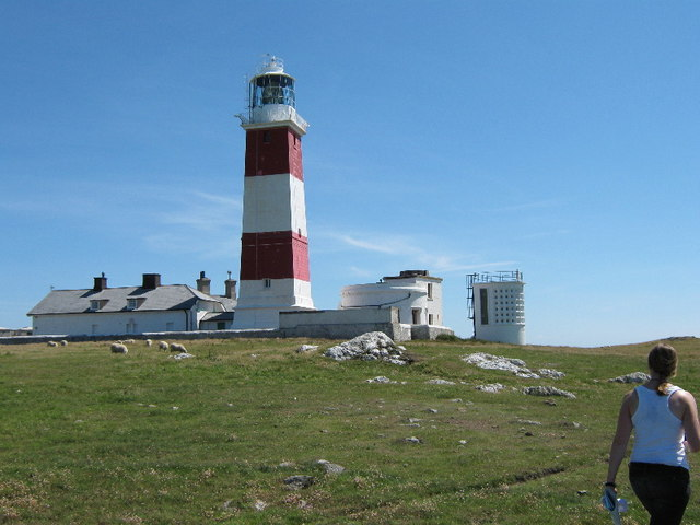The lighthouse from the north west