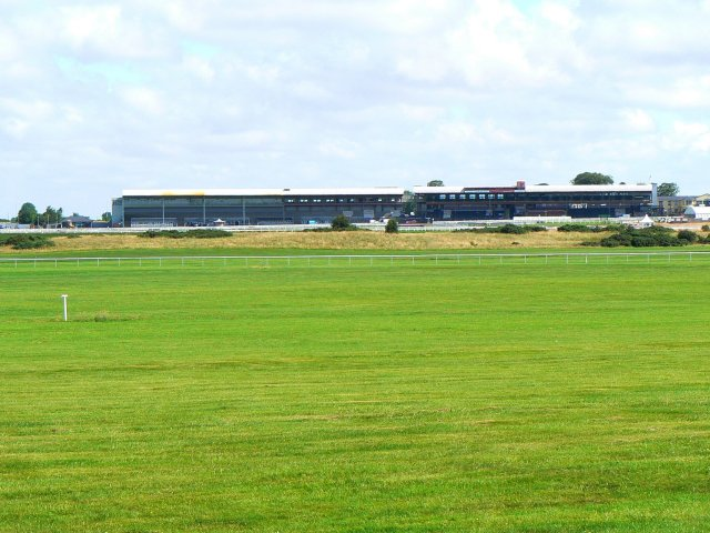 Grandstands at the Curragh