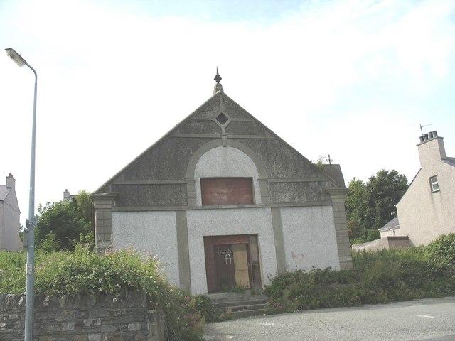 The disused Capel Gwynfa, Longford Road