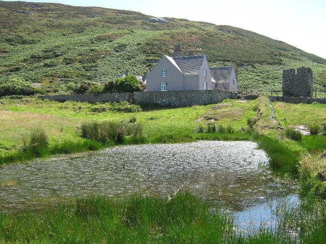 Pond near the Abbey