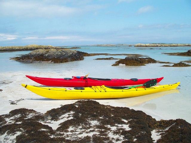 Sea kayaking bliss