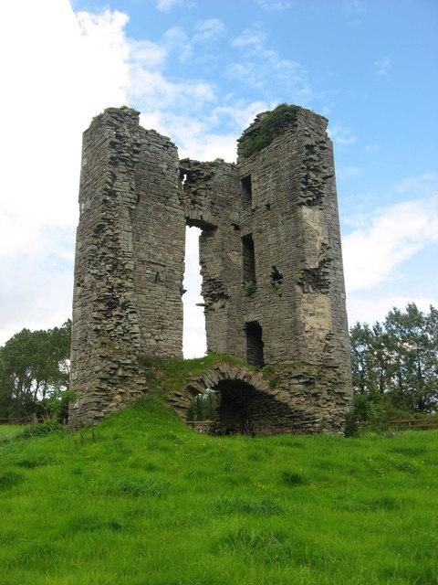Monktown Castle ruins, Co. Meath