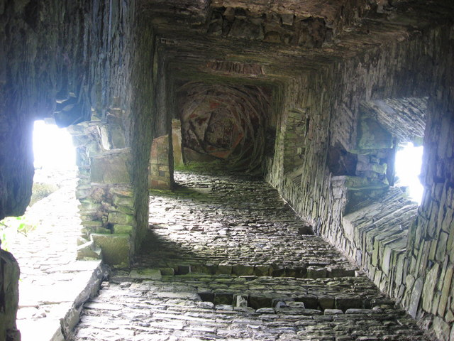 Monktown Castle interior, Co. Meath