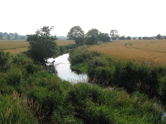 River Nanny at Bellewstown, Co. Meath