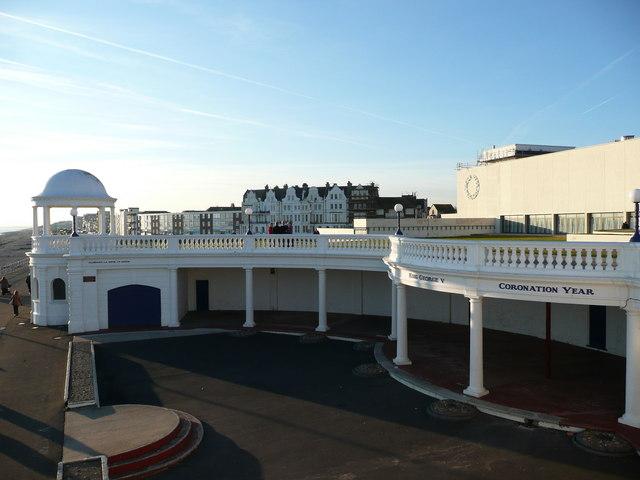 The Colonnade, behind the De La Warr Pavilion, Bexhill on Sea