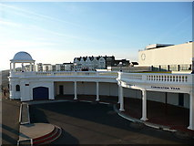 TQ7407 : The Colonnade, behind the De La Warr Pavilion, Bexhill on Sea by David Jarrett
