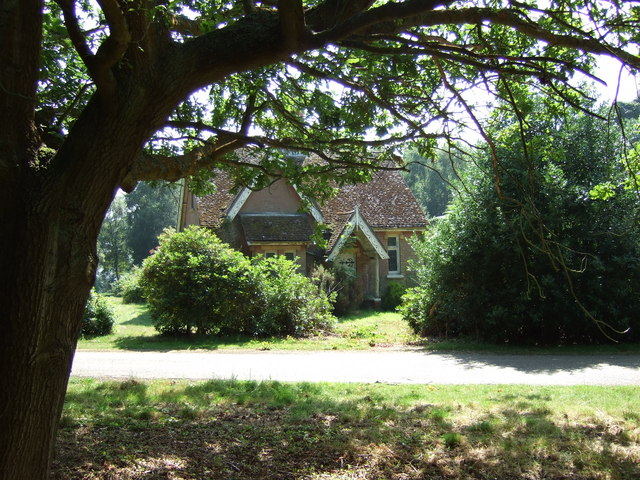 A small house in Black Heath Wood.